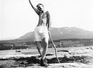 "[""Medlem i Tromsø Turnforening"" fra Perspektivet Museums flickr-strøm]"