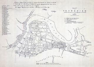 [Trondhjems Byutvidelse (1847) fra Trondheim Byarkivs flickr-strøm]