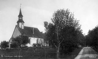 [Lade Kirke (ca. 1915) fra Trondheim byarkivs flickr-strøm]