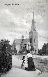 [Ila Kirke (ca. 1915) fra Trondheim Byarkivs flickr-strøm]