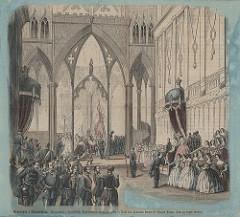 [Kroningen i Trondhjem (1860) fra Trondheim byarkivs flickr-strøm]
